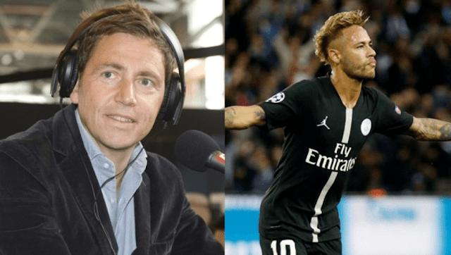 Daniel Riolo remet en place un supporter qui minimise le triplé de Neymar