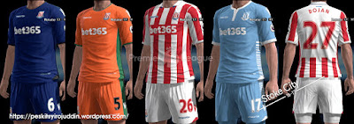 Stoke City 2016-2017