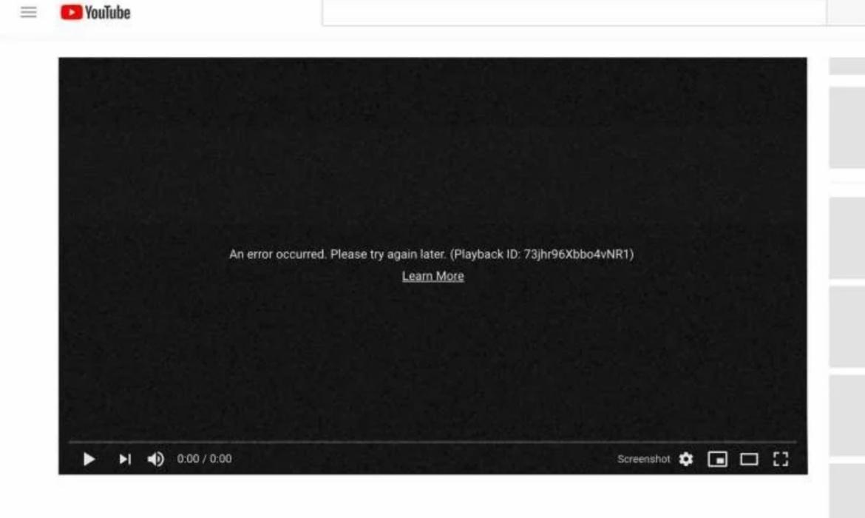 Jutaan pengguna dari seluruh dunia mengeluhkan YouTube yang sedang bermasalah, Rabu 17 Oktober 2018