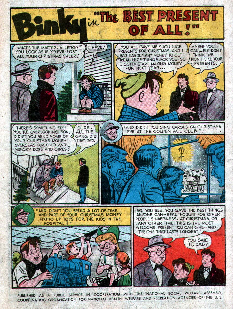 Read online Action Comics (1938) comic -  Issue #212 - 34