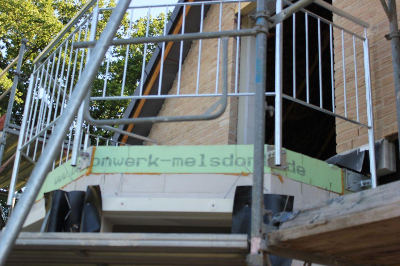 Unser Weg Zum Haus In Hoisdorf Das Balkongelander Ist Da