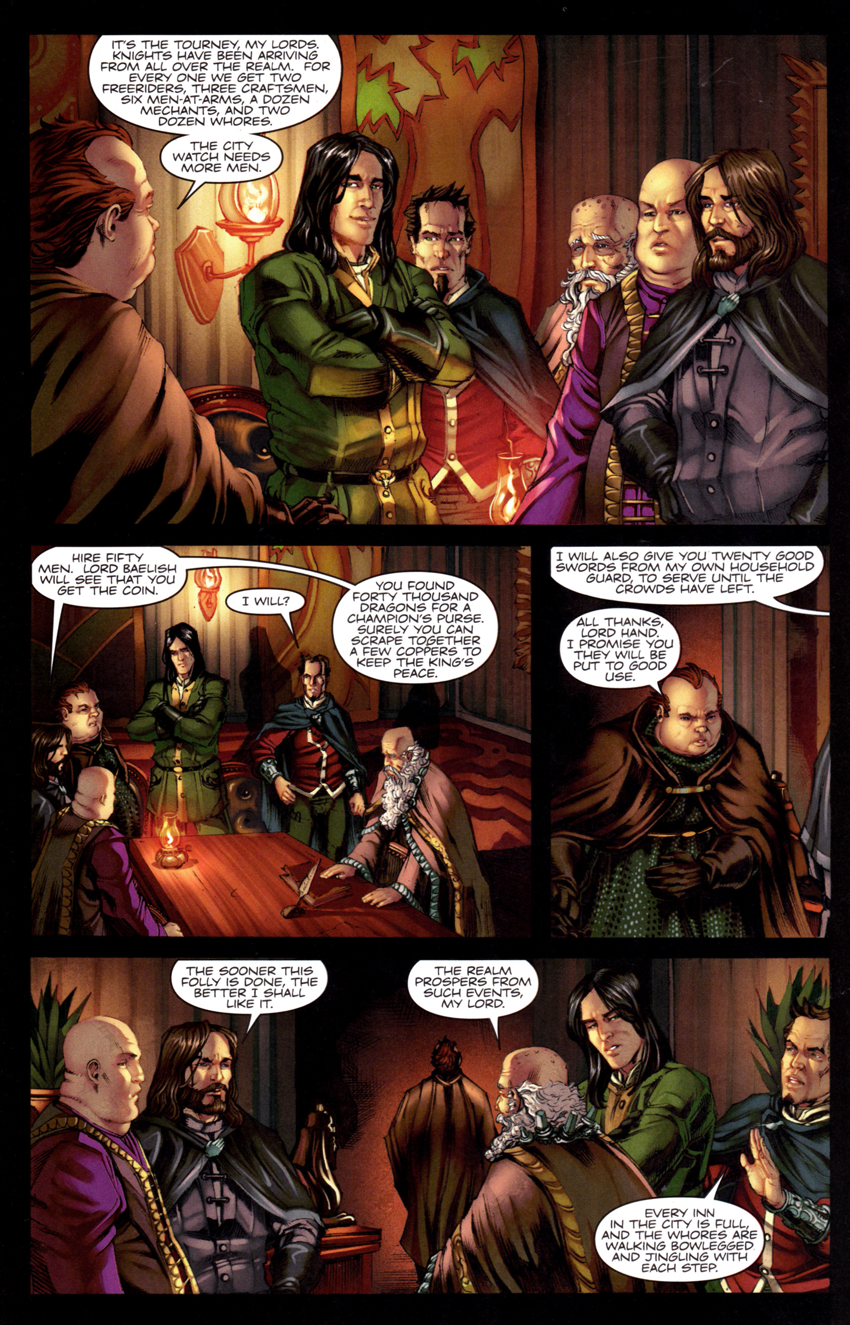 Read online A Game Of Thrones comic -  Issue #8 - 24