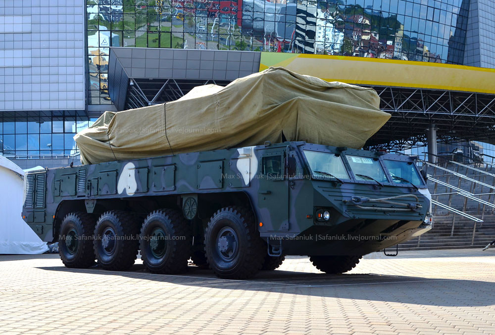 Білорусь покаже модернізований ЗРК Бук на новому шасі