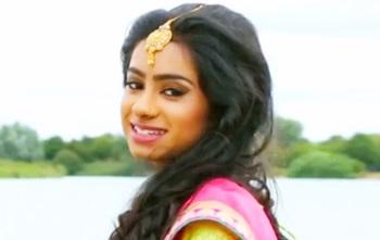 Saree Ceremony Pre shoot of Shakana