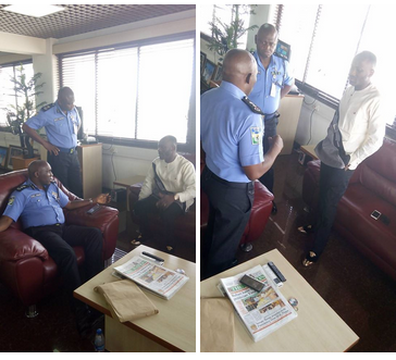 Apostle Johnson Suleman Visits Force Headquarters, Abuja (photos)