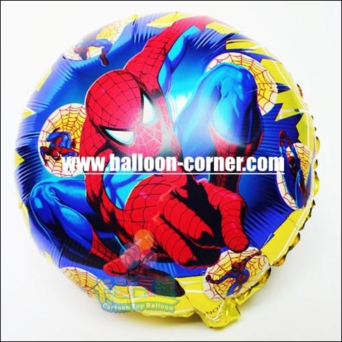 Balon Foil Bulat SPIDERMAN