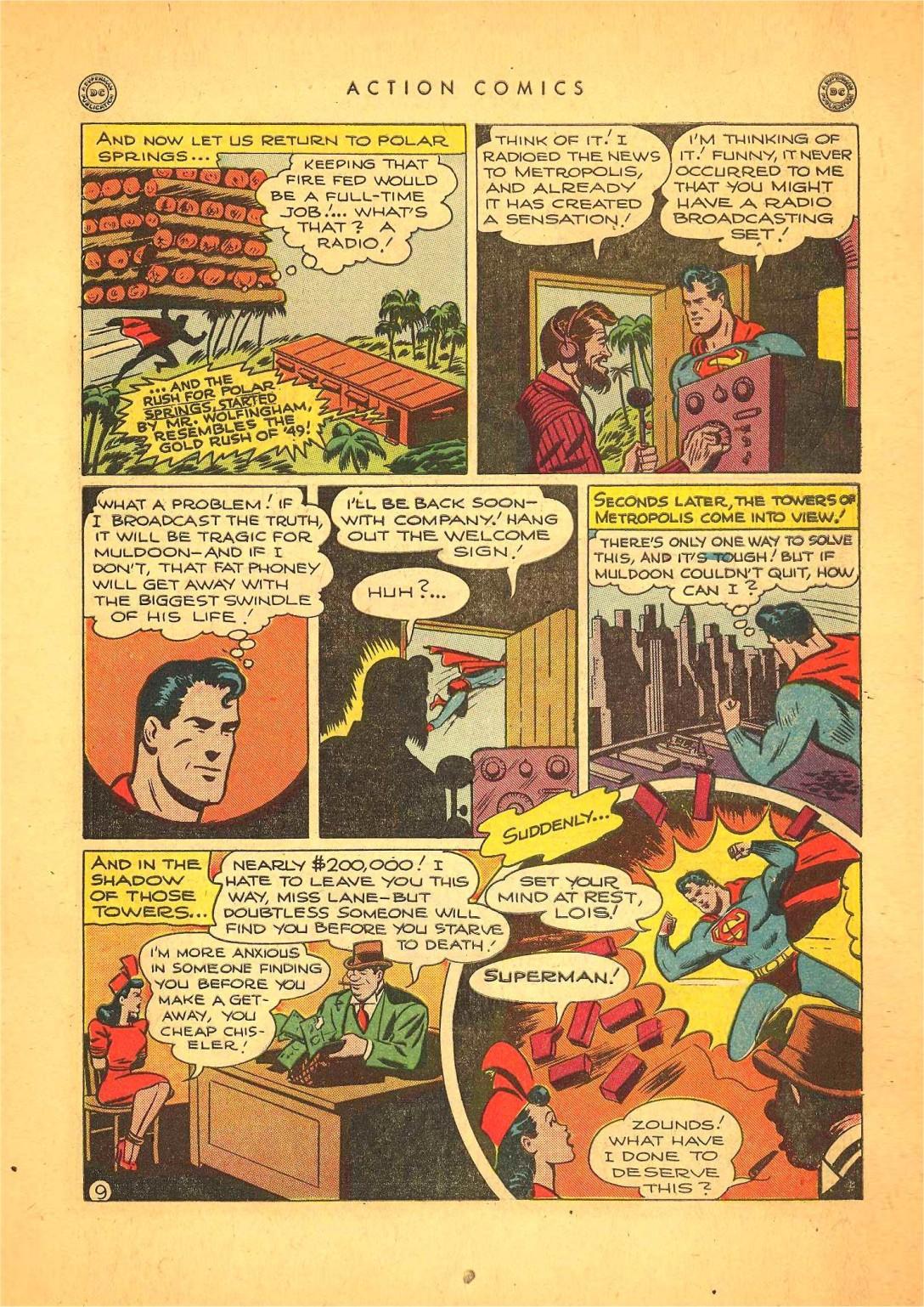 Action Comics (1938) 116 Page 9