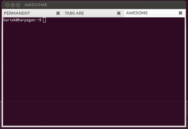 How to set gnome-terminal tab title  Permanently… – Team Blog