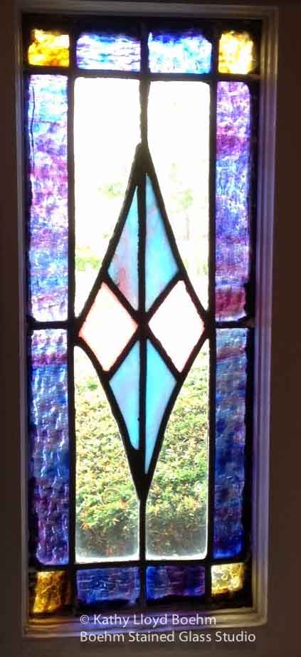 Boehm Stained Glass Blog: Custom Stained Glass Window for ...