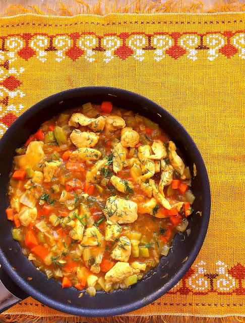Kurczak w sosie miodowo-musztardowym / Honey Mustard Skillet Chicken