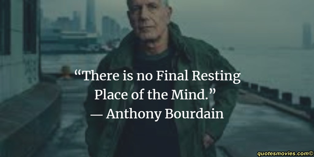 Anthony Bourdain do not touch my knife