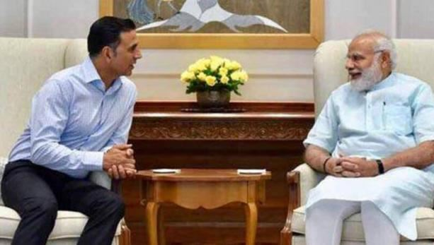 akshay kumar and narendra modi