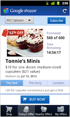 Google Shopper for Android