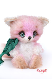 Авторский лисенок тедди, тедди лиса, авторская игрушка, тедди, тедди с шармом, розовый лисенок, лисичка тедди, NatalKa Creations, teddies with charm, artist teddy fox, teddies, teddy fox ooak, fox pink, fox handmade, stuffed toy, Künstlerteddy, Künstler Fuchs, Teddy Fuchs, Teddys, Unikat