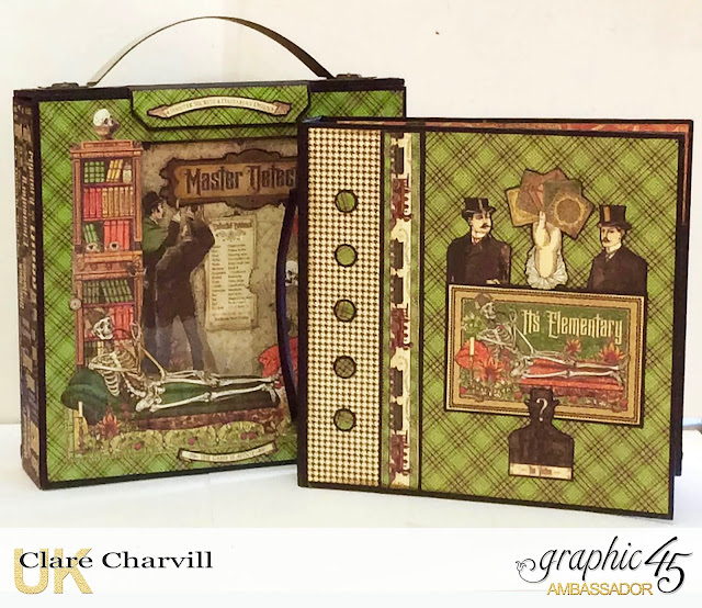 Master Detective Mini Album and Case 1 Clare Charvill Graphic 45
