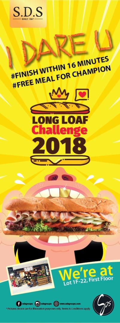 SDS long loaf challenge