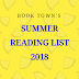 Book Town's Summer Reading List 2018