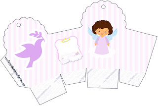 Caja para cupcakes, chocoltes o golosinas de Angelita Morena.