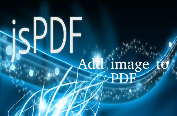 How to add images in jspdf