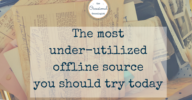 This offline source can answer many genealogy questions, only if you get a copy!