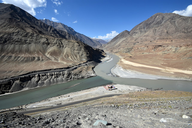 Confluence of Sindhu and Zanskar