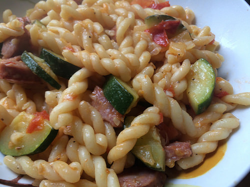 quick and easy pasta, Foodie For A Year