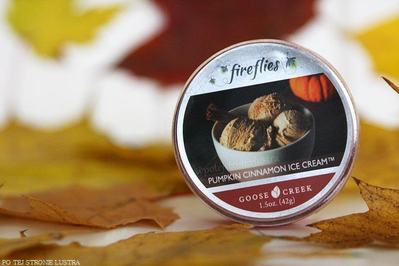 fireflies goose creek pumpkin cinnamon ice cream