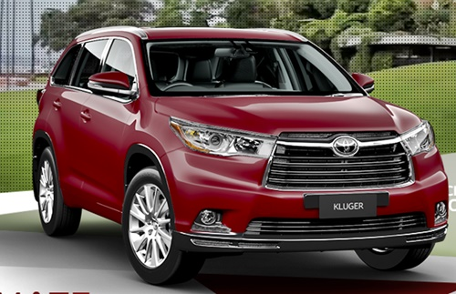 Toyota Kluger 7 Seater Price