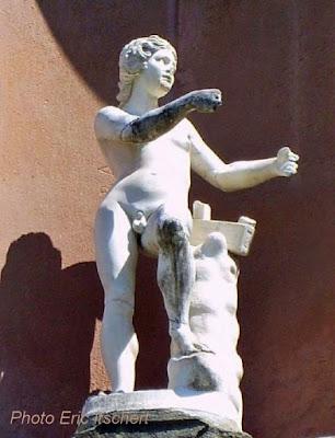 Voyage à Florence, Sculptures, Florence, Jardins Boboli,