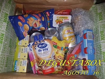 Caja Degustabox Agosto ´16 - Vuelta al Cole