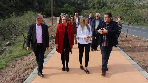 Obras Públicas inicia las obras para dar continuidad al paseo que unirá La Vall d'Uixó con Alfondeguilla