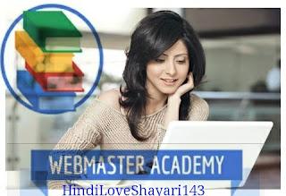 Google Webmaster Academy -google class