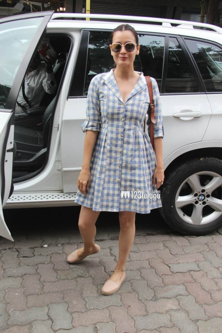 Actress Dia Mirza In Delhi Latest Hotos - Sabwoodcom-1705