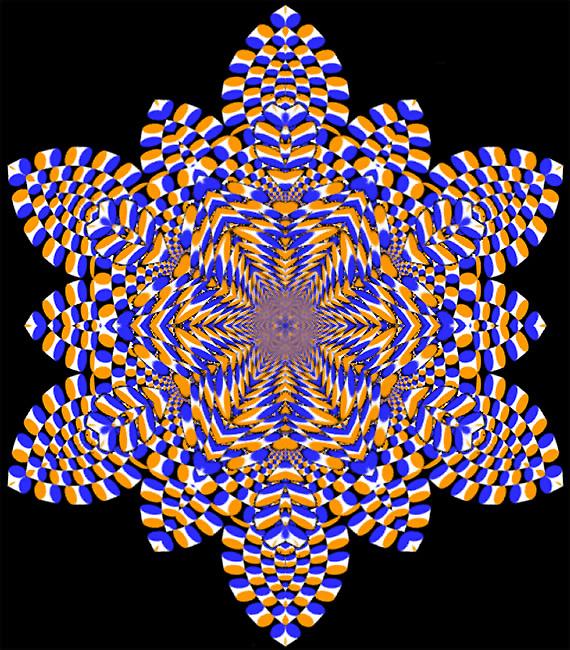 Su Kristali Göz Yanılması, Kar ve Buz Kristalleri
