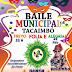 Baile Municipal de Carnaval acontecerá em Tacaimbó, PE