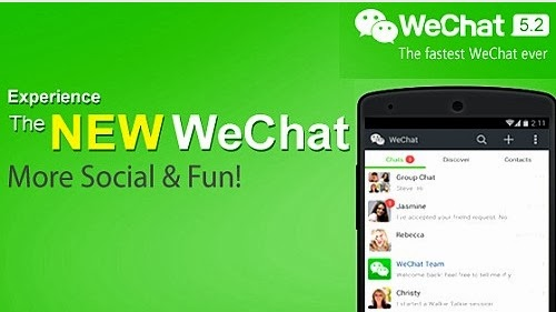 WeChat 5.2 social messaging app