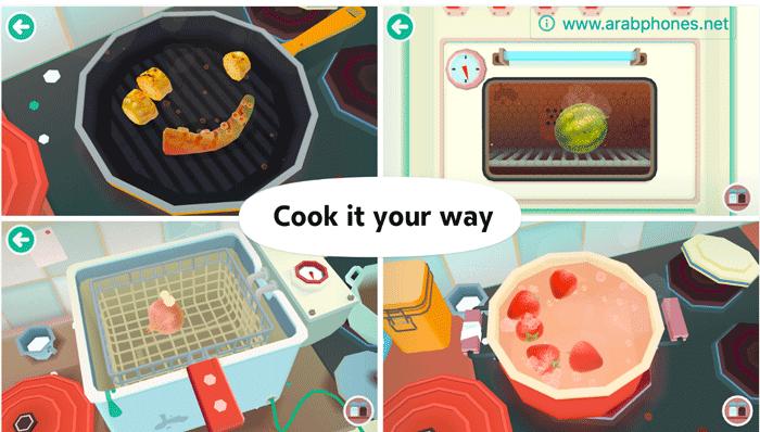تحميل لعبة toca kitchen 2
