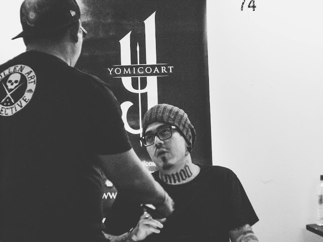 Yomico Moreno en Venezuela Expo Tattoo 2017