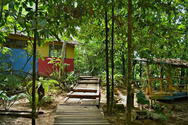 Guyane, Brésil, Oiapoque, Oyapock, chacara du Rona