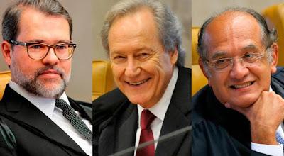 Dias-Toffoli-Ricardo-Lewandowski-Gilmar-