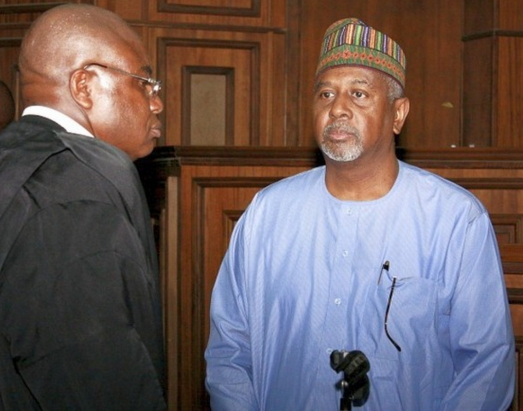 sambo dasuki arrested