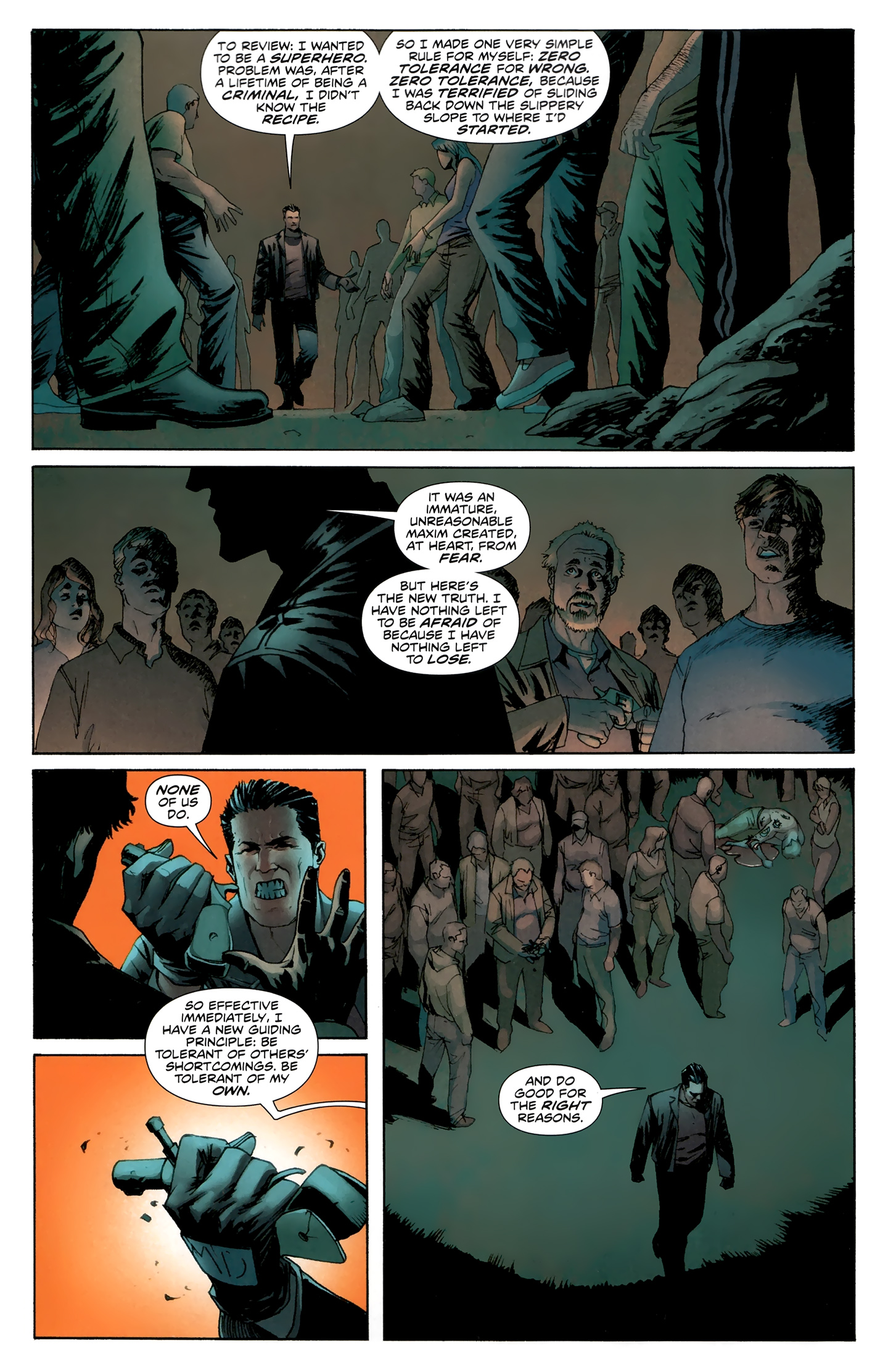 Read online Incorruptible comic -  Issue #30 - 8