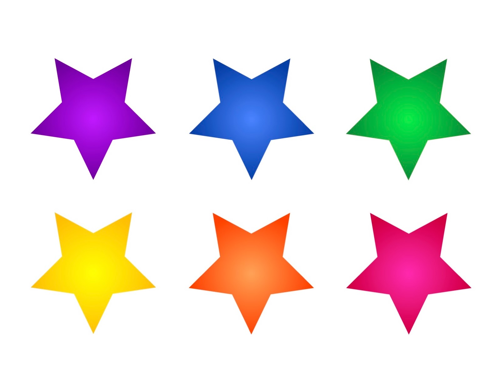 Camille's Primary Ideas: Every Star Is Different, Chorus