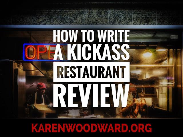 How to Write a Kickass Restaurant Review