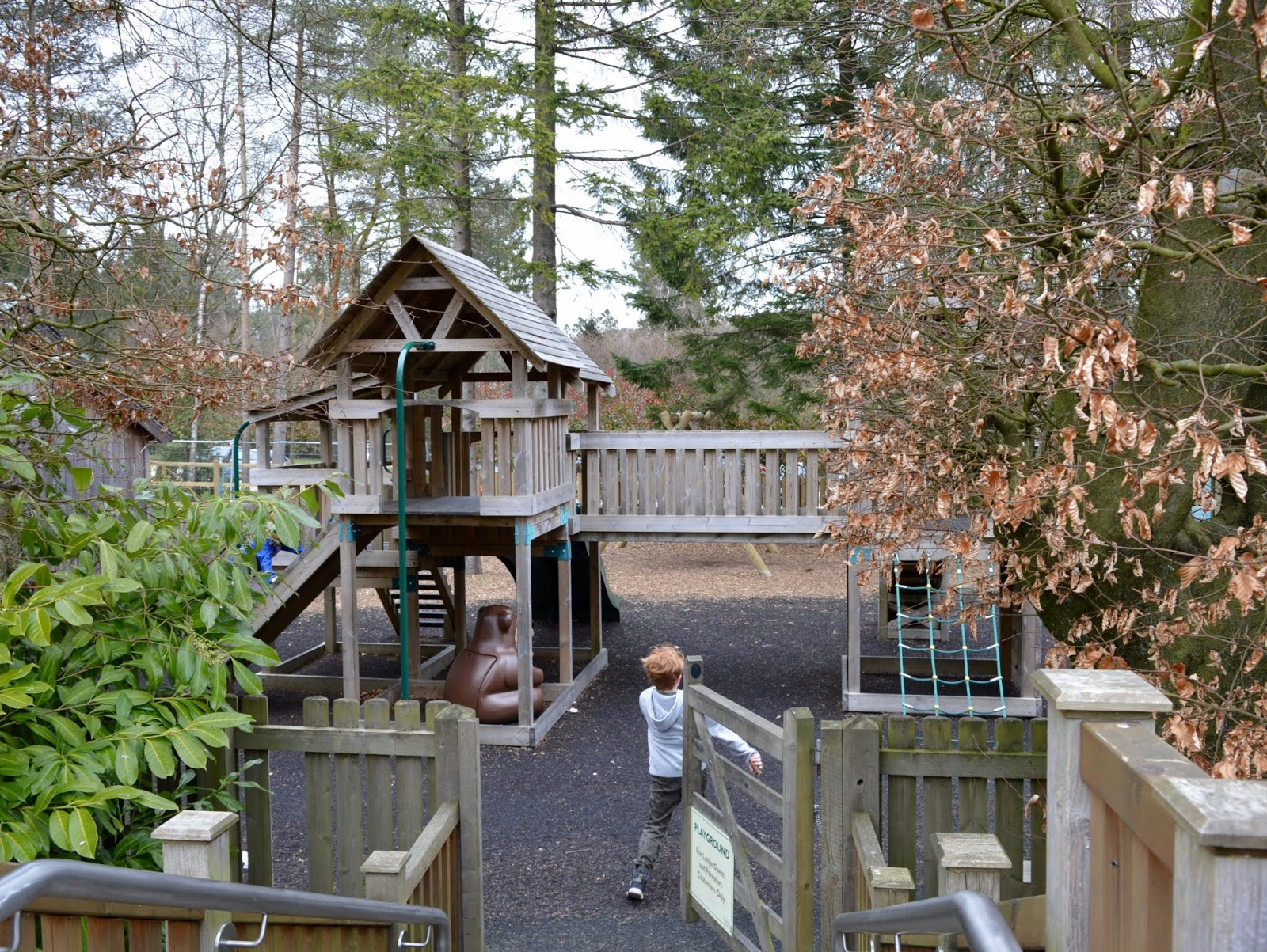 A Review of Darwin Forest & The Peak District with Tweens  - Beer Garden Play Area