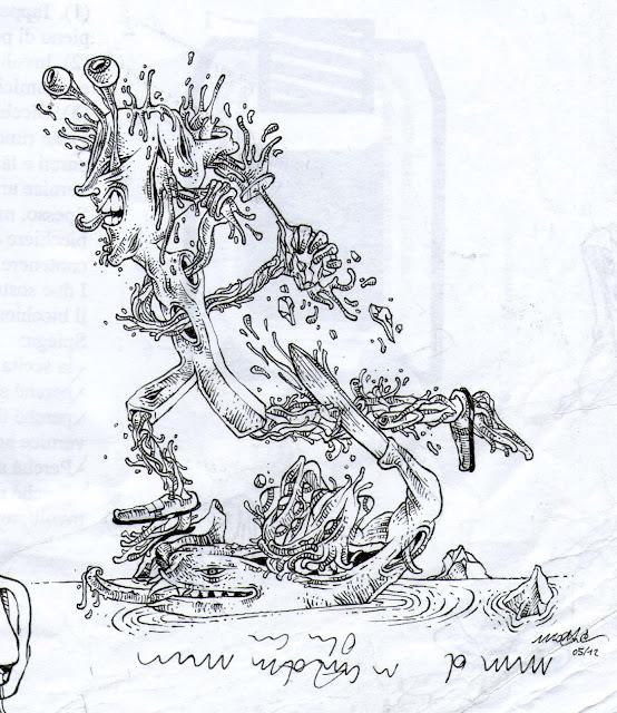 MATTIA PAGLIARULO artworks STUDI PERSONALI DI ILLUSTRAZIONE