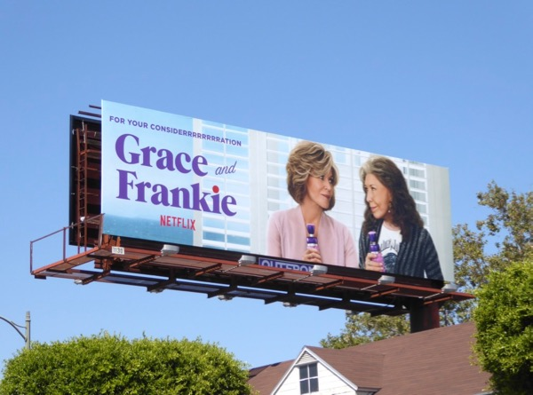 Grace Frankie season 3 Emmy billboard