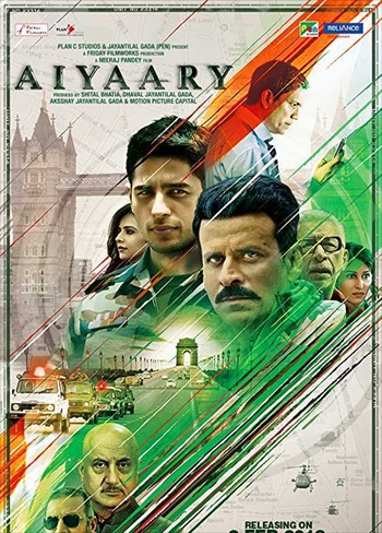 Aiyaary 2018 Hindi 480p pDVDRip 400MB