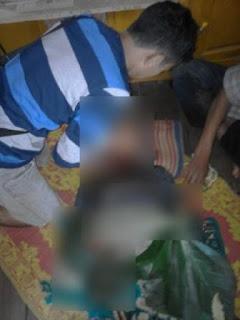 Korban Irpan meregang nyawa oleh ayah kandungya sendiri