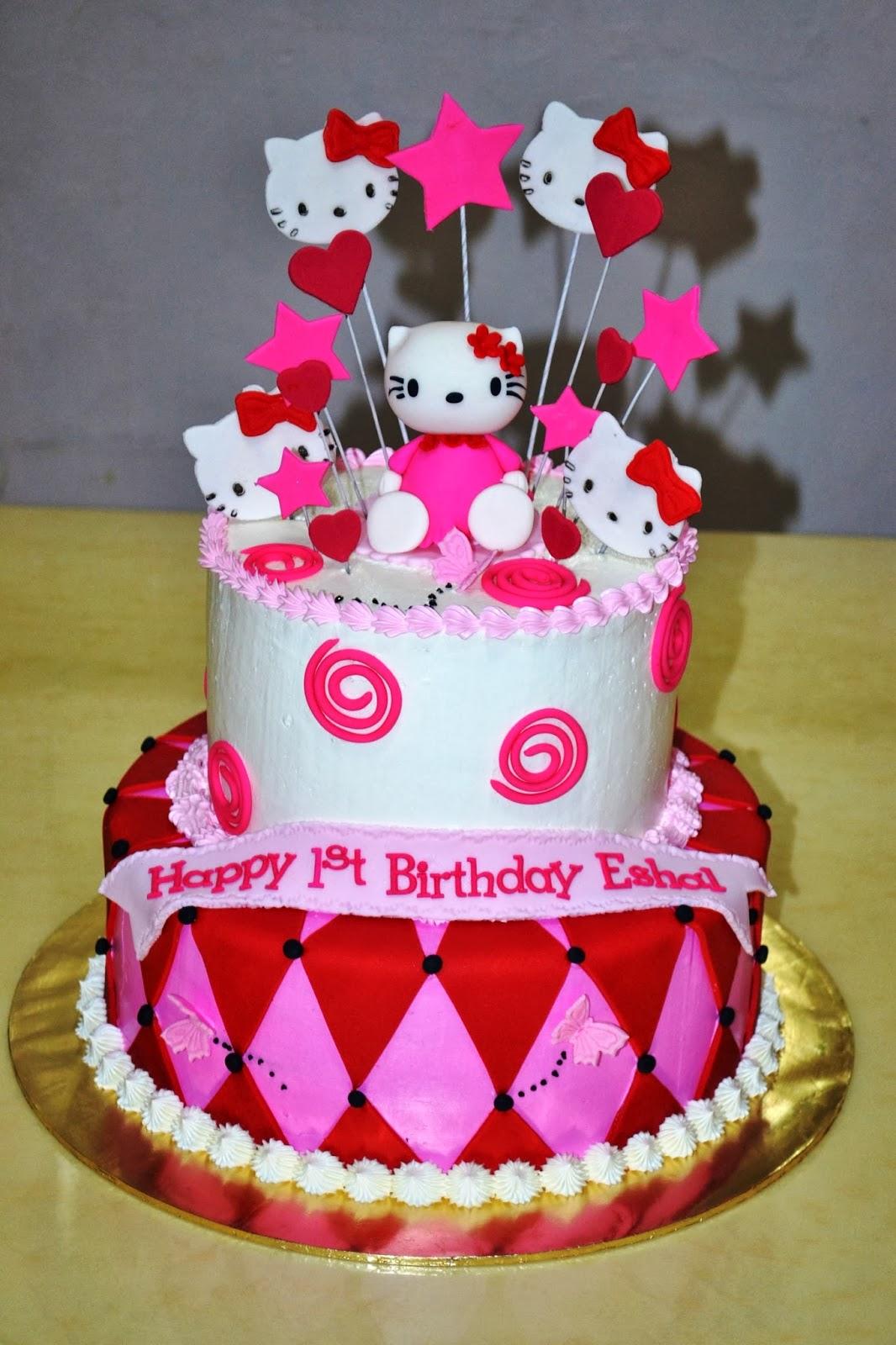 Mypu3 Cake House Hello Kitty Cake